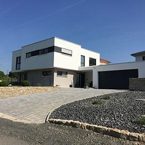Bild zu Architektenhaus W in Görgeshausen